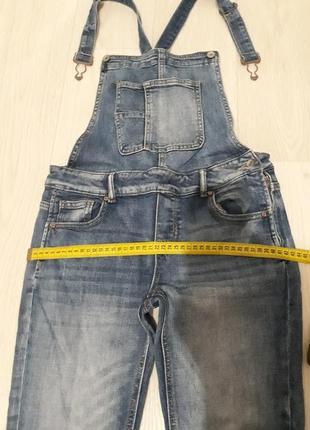 Хорошый джинсовый комбинезон👖3 фото