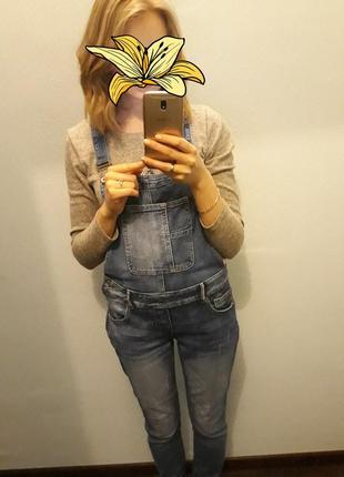 Хорошый джинсовый комбинезон👖5 фото