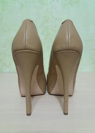 Шикарные туфли кожаные2 фото
