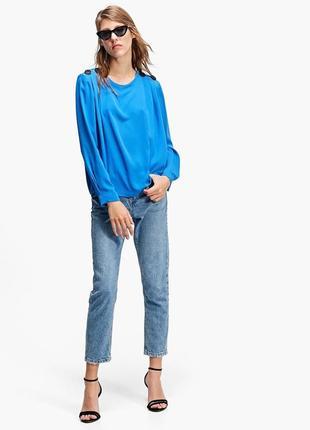 Новая шикарная блуза stradivarius размер м5 фото