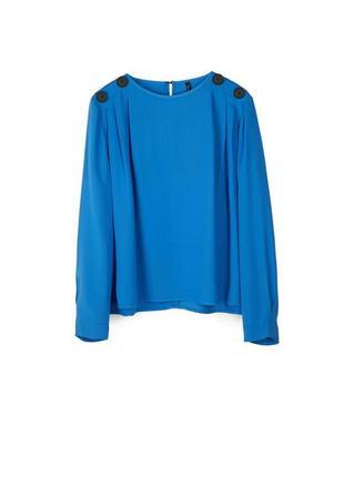 Новая шикарная блуза stradivarius размер м6 фото