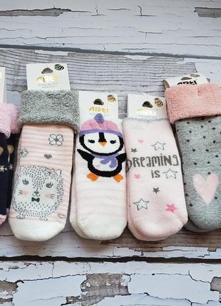 Махровые носочки arti р.6-12м