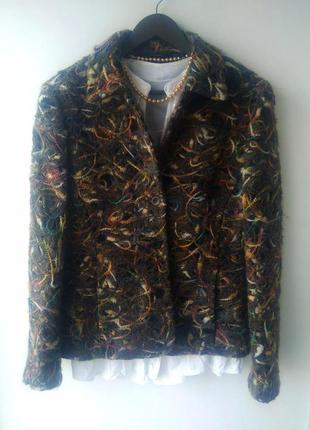 Красивый пиджак люкс качества от verse италия 48% шерсть ламы