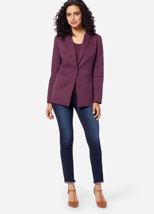 Alba moda брендовый#шерстяной#бордовый#марсала жакет#пиджак#блейзер, оверсайз.