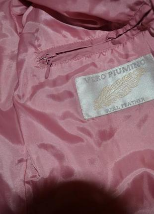 Зимова куртка (натуральний пух)5 фото