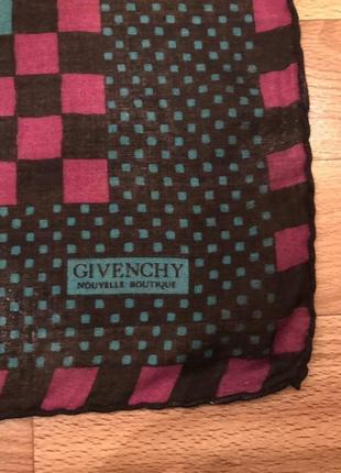 Платок в квадратики givenchy nouvelle boutique2 фото
