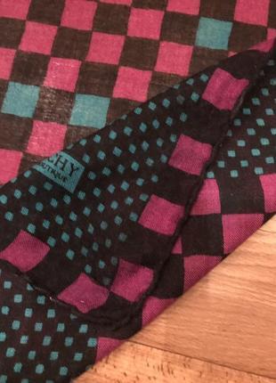 Платок в квадратики givenchy nouvelle boutique3 фото