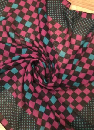 Платок в квадратики givenchy nouvelle boutique4 фото