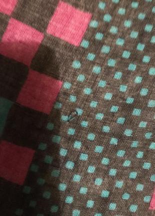 Платок в квадратики givenchy nouvelle boutique5 фото