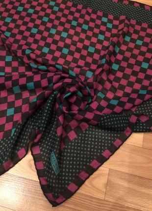 Платок в квадратики givenchy nouvelle boutique6 фото