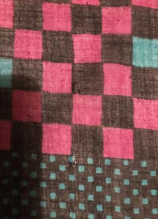 Платок в квадратики givenchy nouvelle boutique9 фото