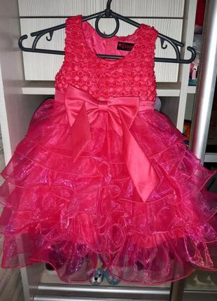 Нарядное пышное платье для принцессы