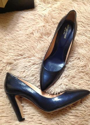 Кожаные итальянские туфли классика
