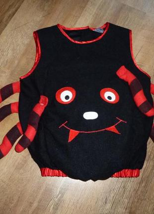 Новогодний костюм паучок, карнавальный костюм на хеллоуин на 6 лет