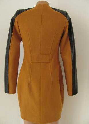 Пальто кашемировое, приталенного силуэта, без ворота, два кармана, 5269м7 фото