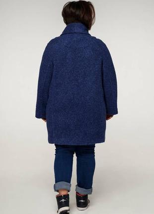 Шикарное пальто шерстяное для шикарных дам, 54-68,2 фото