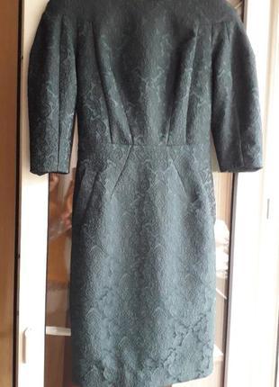 Изумрудное платье от а.тана
