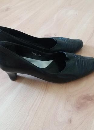 3-я вещь в подарок! кожаные туфли1 фото