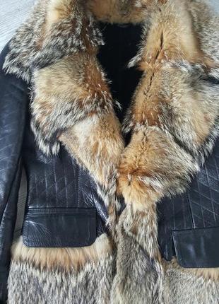 Короткая куртка - дубленка