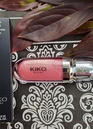 3d hydra lipgloss kiko milano блеск для губ кико милано блиск кіко