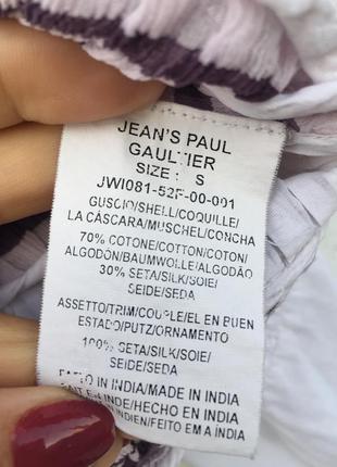 Блузка jeans paul gaultier3 фото