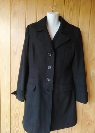Пальто 60%шерсть1 фото