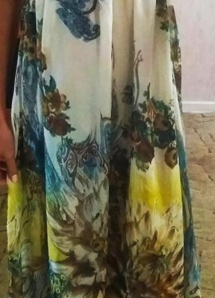 Эффектное летнее платье4 фото