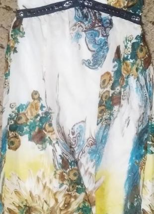 Эффектное летнее платье5 фото