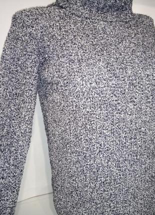 Кофта свитер мягкий с горловиной хомут atmosphere uk 6/34/xxs2 фото