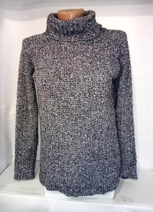 Кофта свитер мягкий с горловиной хомут atmosphere uk 6/34/xxs1 фото
