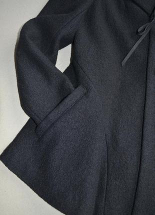 Шерстяное укороченное пальто жакет куртка осень-весна р.m-l 100%шерсть kiabi6 фото