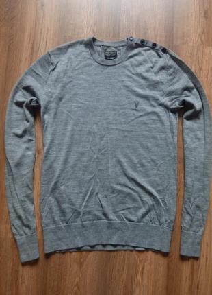 Пуловер allsaints шерсть
