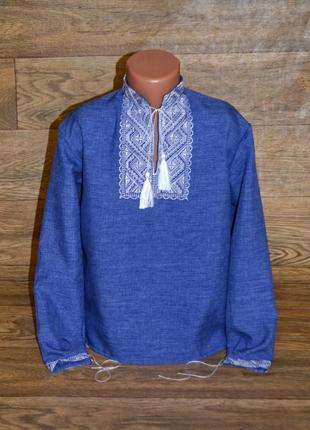 Вишиванка, рубашка-вышиванка для мальчика 3-4 года