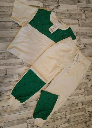 Спортивный костюм с бусинами1 фото