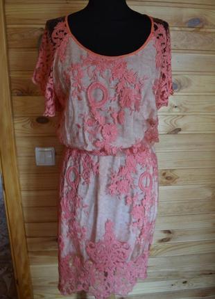 Новое роскошное кружевное платье iren klairie premium! дорогое кружево+подклад!