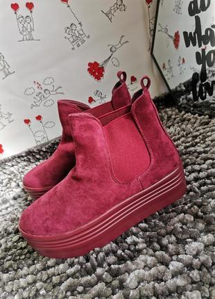 Крутые женские ботинки демисезонные