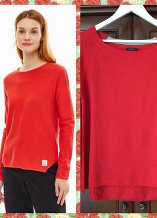 Неймовірний джемперок гарного червоного кольору, бренда marc o pollo, розмір л