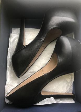 Туфли натуральная кожа. италия 38 размер