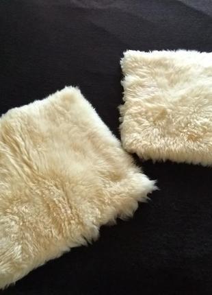 Декоративные наволочки овчина