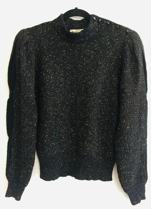 Кутюрный свитер pierre cardin paris шерсть франция винтаж
