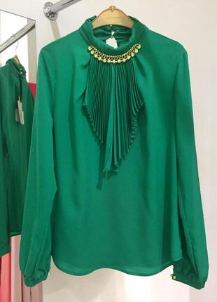 Нарядная блуза, турция в трех размерах1 фото