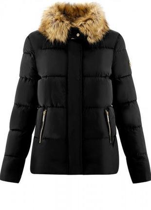 Куртка укороченная с отстегивающимся мехом oodji2 фото