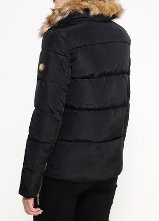 Куртка укороченная с отстегивающимся мехом oodji4 фото