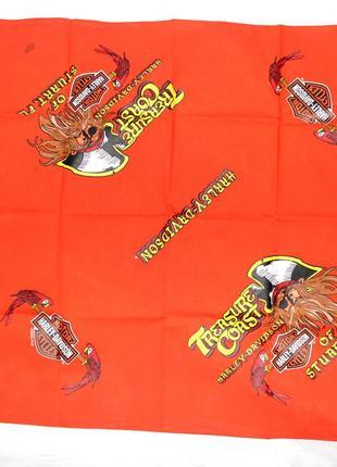 Оригинальная бандана платок harley-davidson global products.