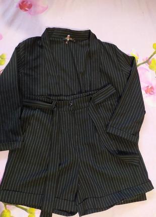 Костюм, шорты/пиджак