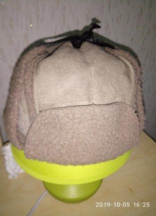 Фирменная трендовая молодежная шапка