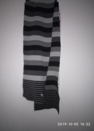 Фирменный мужской шарф