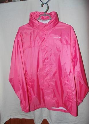 Куртка дождевик ветровка trespass оригинал новая мембрана waterproof tres-tex