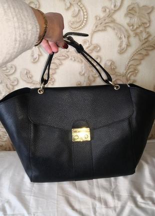 Vip!!! шикарная деловая кожаная сумка venezia, италия👜👜🌹💥