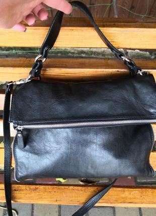 Стильная кожаная сумка borse in pelle, италия🥀🦋🍂🍁